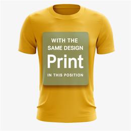 $enCountryForm.capitalKeyWord Australia - Wholesale Cheap Sublimated Custom Man T-shirt 100% Polyester Blank Quick Dry T-shirts Full sublimation printing Customized large size XXS-5X