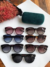 Wholesale Designer sunglasses cat eye frame features board material popular simple style top quality uv400 protection eyewear