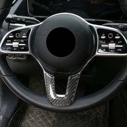 Ajuste de la Cubierta de la manija de la Puerta de Fibra de Carbono para Mercedes Benz Clase B W247 2019 2020 Clase A A180 A200 A250 W177 V177