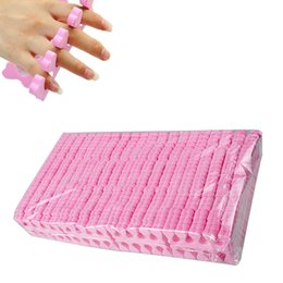 sponges for feet Australia - Nail Tools Toe Separators Biutee 200pcs lot Soft Foam Sponge Finger Toe Separator Manicure For DIY Nail Art Salon Tools Feet Care Manicure