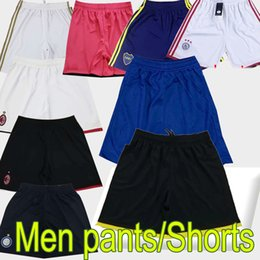 Atletico Madrid réel pantalon de football Madrid ajax lazio roma short de football pantalons haut personnalisés en Solde