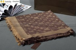 Wholesale beige cotton scarf resale online - Chenfei3 CBB2 Factory Price High Quality Classic Cotton Pashmina Scarf Shawl Women Scarf Metal Printing Scarf Wraps Colors