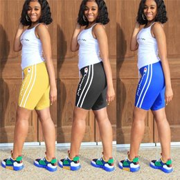 $enCountryForm.capitalKeyWord Canada - 5 Colors Women Champions Tracksuit Summer 2 Piece Outfits Tank Tops + Shorts Sports Suit Letter Printed Sportswear Joggers Leggings A32607