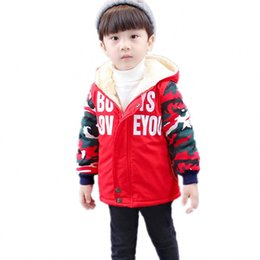 Denim jacket boys online shopping - New Baby Boy Toddler Winter Jacket And Spring Thickness Kids Coat Old Size Autumn Winter WBT002