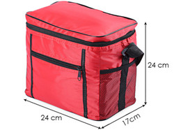 cool bag picnic UK - Thermal Lunch Bag Portable Food Picnic Cooler Bag Waterproof Insulated Storage Container Tote Picnic Bag Camping Travel Ice Box