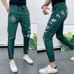skinny trousers NZ - 2020 Summer Streetwear Joggers Pants Mens Sweatpants Hip Hop Harem Pencil Pants Casual Slimm Skinny Trousers big size 28-36