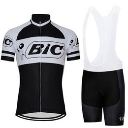 High Quality Cycling Clothing Australia - High Quality 2019 BIC team NEW Men Summer Cycling Jersey Set Short Sleeve Bike Outdoor Sports Racing Bicycle Clothing Maillot roap ciclismo