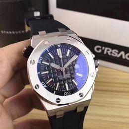 analog watches date 2019 - Big Sell watch men 42mm Automatic machinery watch sweeping movement False watch clock watches 77 cheap analog watches da