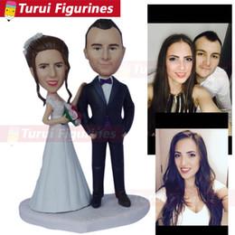 Wedding Figures Australia - Bobble Head Figures collectible figurines wedding cake topper custom costume clothing personalized bobblehead dolls figurines