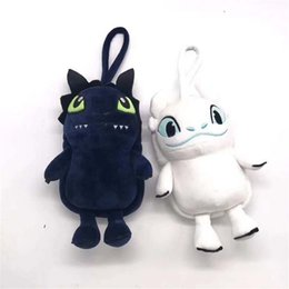 China How to Train Your Dragon 3 Plush Wallet 2019 New movie Night Fury Toothless Soft Dragon Stuffed Doll Purse small School Bag for Student C2 cheap purse wallet doll suppliers
