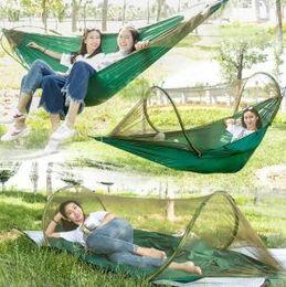 $enCountryForm.capitalKeyWord Australia - Mosquito Net Hammock 260*140cm 3 in 1 Travel Camping Hanging Hammock Outdoor Swing Hanging Bed LJJO6198