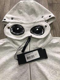 Wholesale hood jacket men resale online – 19SS CP Mens Jackets Brand Hoodies Zipper Windbreaker Company Designer Jacket Sweatshirt Mens Luxury Coats Sunglasses Hood Casual B103433L