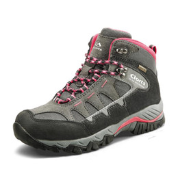 lightweight hiking boots women NZ - Waterproof Women Hiking Boots Lightweight Breathable Outdoor Shoes Backpacking Climbing Hiking Shoes Boots Sport Sneakers