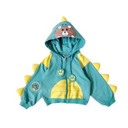 $enCountryForm.capitalKeyWord Australia - Autumn Winter Infant Newborn Boys Outerwear Dinosaur Design Long Sleeve Hooded Coat Autumn Fashion Jacket Clothes
