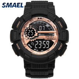 $enCountryForm.capitalKeyWord Australia - Sport Watches Camouflage Watch Band SMAEL Men Watch 50m Waterproof Top S Men LED 1366 Digital WristWatches