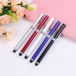 $enCountryForm.capitalKeyWord Australia - Universal Luxury 2 in 1 Capacitive Touch Screen Drawing Pen Stylus Pen for iPhone for iPad For Smart Phone Tablet