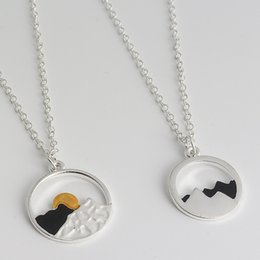 $enCountryForm.capitalKeyWord Australia - The Mountains Are Calling and I Must Go - Wanderlust Jewelry - Womens Mountain Range Necklaces