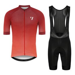 Discount red white blue bib shorts - 2019 void Team Summer Cycling Jersey set Racing Bicycle shirts bib shorts suit men cycling clothing Maillot Ciclismo Hom