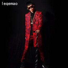 $enCountryForm.capitalKeyWord Australia - Red Leopard Print Suit Long Jacket Pants Costumes Singer Dancer Dress Performance Stage Show Nightclub Chothing Djds Wear Show