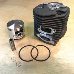 Piston set online shopping - Cylinder kit mm fits Stihl TS750 TS760 concrete cut off saw Cylinder piston rings set pin clips assembly replacement