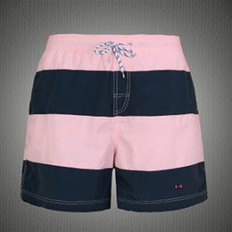 Wholesale boarding shorts for sale - Group buy Mens striped Shorts pants eden park patchwork Trunks Beach Board Short Pant Male brand Running Sports casual Surffing