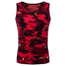 $enCountryForm.capitalKeyWord UK - 4 Color Men Tank Top Stringers Summer Camo Camouflage Slim Fit Casual Undershirt Singlet Brand Fitness Clothing Sleeveless Shirt #327606