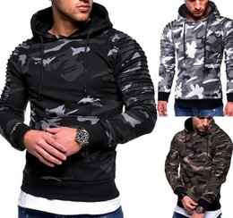 hip hop belts for men Australia - Men F Camouflage Cool Hoodies 6 Color Slim Sweatshirt Male Camo Hoody Hip Hop Autumn Winter Military Hoodie Size 3XL For Men