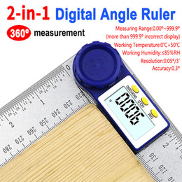tool finder NZ - 0-200mm 8'' Digital Meter Angle Inclinometer Angle Digital Ruler Electron Goniometer Protractor Angle finder Measuring Tool new