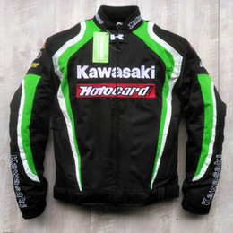 Motorcycle Racing Clothes Australia - New style kawasaki breathable motorcycle jackets racing jackets knight off-road jackets motorcycle clothing windproof have peotection