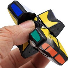 Rotating Cube Toy NZ - Children's educational toys plastic black matrix fingertip gyro gadgets rotating finger rotation magic cube puzzle smooth toy