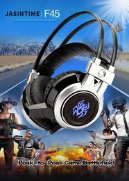 $enCountryForm.capitalKeyWord Australia - JASINTIME factory head game PC headset, F45 microphone, 3.5 jack, audio jack, glow bass vibration game headset, one piece shipped