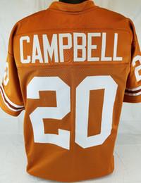 Discount style football jersey - Cheap custom Earl Campbell Orange College  Style Football Jersey Customized Any abdb06441