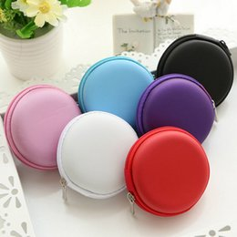 euro coins Australia - 7colors Coin Purses Women Girls Fashion Zipper Wallet Mini Euro Round Coin Holder Casecoin Purse For Kids Women Ladies