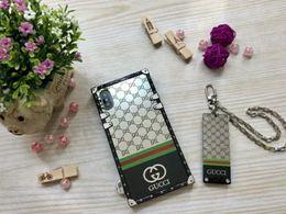 $enCountryForm.capitalKeyWord NZ - Brand Phone Case Luxury for IphoneX XS XR XSMAX IphoneX Iphone7 8Plus Iphone7 8 Iphone6 6sP 6 6s Designer Phone Case with The Key Chain