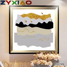 life size pictures Australia - ZYXIAO Big Size Oil Painting Art gold hat bird Home Decor on Canvas Modern Wall Art No Frame Print Poster picture A9399