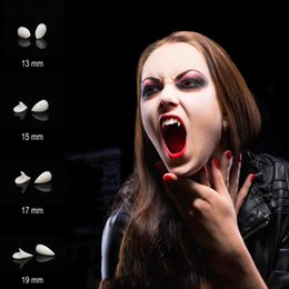 vampire halloween accessories UK - DIY Halloween Cosplay Party Props Dentures Zombie Vampire Teeth Ghost Devil Fangs False Tooth Costume Festival Party Accessories