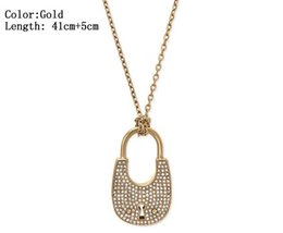 Rhinestone Circle Chain Australia - 3 Color Heart Shape Letter Rhinestone Necklace Gold, Silver, Rose Gold Color Chain high quality for Women Lady Girl Lady Jewelry