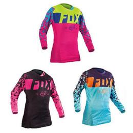 $enCountryForm.capitalKeyWord Australia - free shipping Bike Clothing Cycling Series Jerseys man women Long Sleeve Top Downhill Racing Motorcycle Mountain Off-road Fox TLD T-shirt
