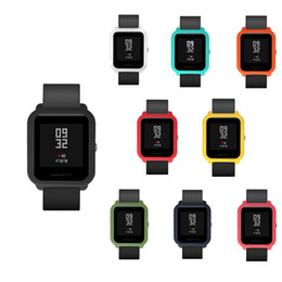 $enCountryForm.capitalKeyWord Australia - Silicone Watch Case For Xiaomi Smart Watch Full Protector Waterproof Anti-knock Bumper Cover For Amazfit Bip Youth