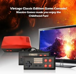 New hot video free online shopping - New modle Mini TV Can Store RED Game Console Video Handheld for NES games consoles with retail boxs hot sale
