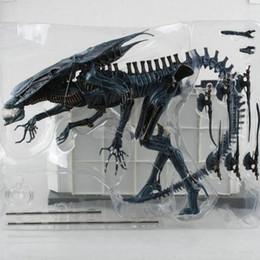 "Aliens Vs Predator Figure Australia - 38cm 15"" Alien Vs Predator Aliens Bluequeen Mother Movie Figure Action & Toy Figures Figures Model"