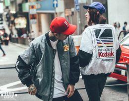 $enCountryForm.capitalKeyWord Canada - Japanese Hip Hop style MA1 bomber jacket Harajuku pilot street printing kodak Jackets Men Women coat brand Clothing outerwear