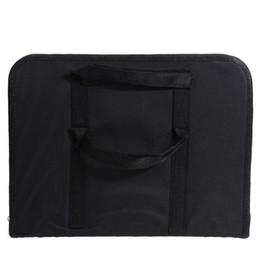 Discount foldable charger - VODOOL Portable Computer Bracket Foldable Laptop Car Back Seat Table Laptop Holder Food Desk Tray Storage Bag