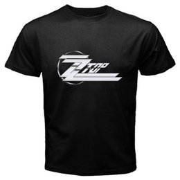 $enCountryForm.capitalKeyWord Australia - New ZZ TOP Logo Classic Retro Rock Band Mens Black T-Shirt Size S to 3XL Summer Casual Clothing