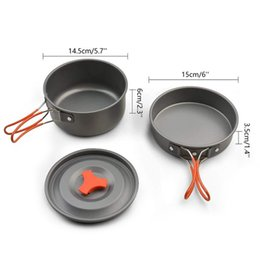 tactical games NZ - Outdoor camping game picnic supplies portable game pot single soldier combination kitchen set