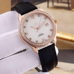$enCountryForm.capitalKeyWord Australia - Hot brand fashion luxury elegant gorgeous lady watch quartz watch lady watch sapphire stainless steel leather pin buckle delicate