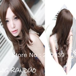 $enCountryForm.capitalKeyWord Australia - kk 0040 New Sexy Womens Girls Fashion Style Wavy Curly Long Hair Full Wigs Colors