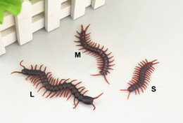 $enCountryForm.capitalKeyWord Australia - Plastic Simulate Centipede Simulation Fake Insect Prank Trick Funny April Fools' Day Gift Horror Scary Toys