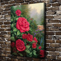 $enCountryForm.capitalKeyWord Australia - A Perfect Red Rose Flowers,Home Decor HD Printed Modern Art Painting on Canvas (Unframed Framed)
