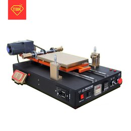 tablet screen machine NZ - TBK-958D Automatic Vacuum LCD Separator Machine Built-in Vacuum Pump For Tablet Cellphone LCD Screen Repair Refurbished